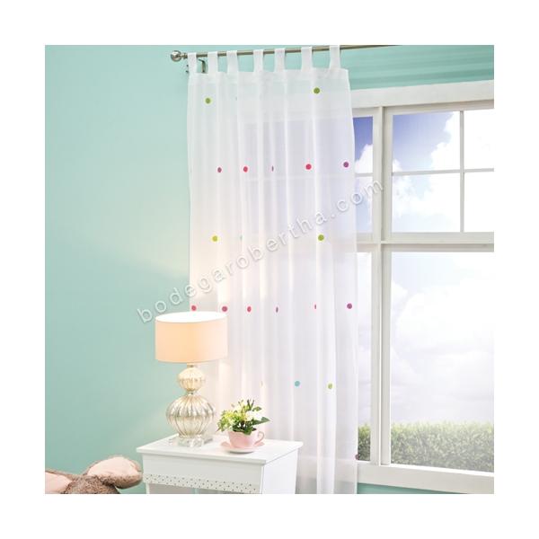 Cortinas De Baño Concord:516 00 juego de cortinas translúcidas incluye juego de 2 cortinas