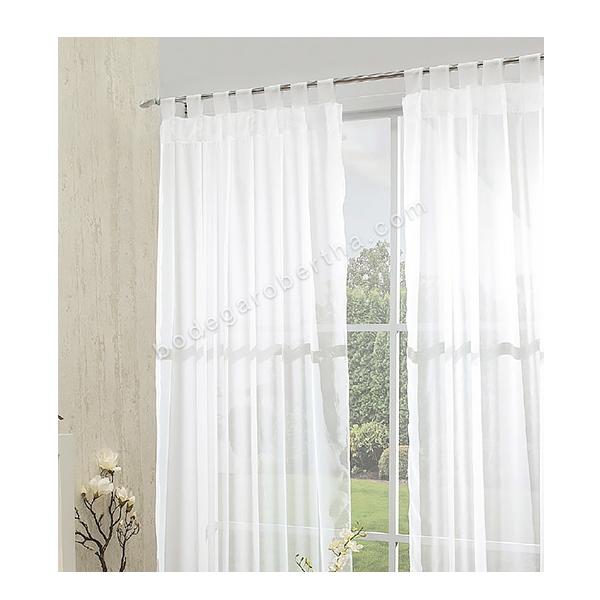 Cortinas De Baño Concord: de cortinas translúcidas incluye juego de 2 cortinas medidas 1 45 x 2