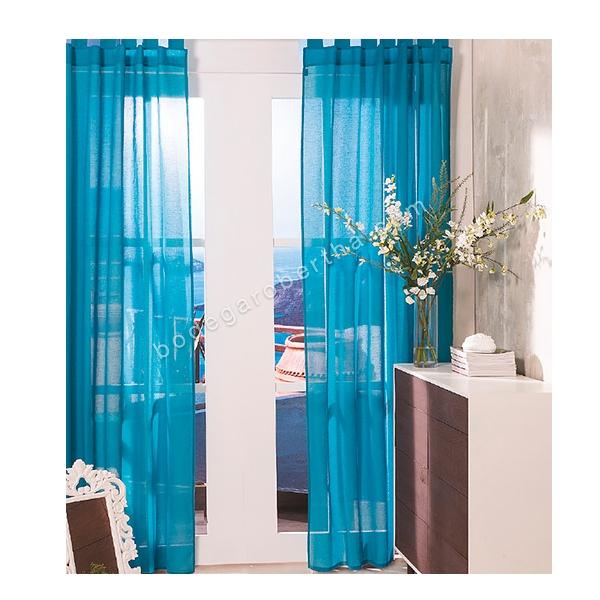 Cortinas De Baño Concord: de cortinas translúcidas incluye juego de 2 cortinas medidas 1 36 x 2
